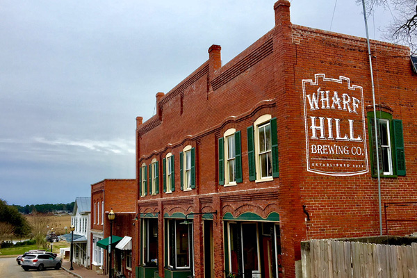 Wharf Hill Brewing Co. in Smithfield