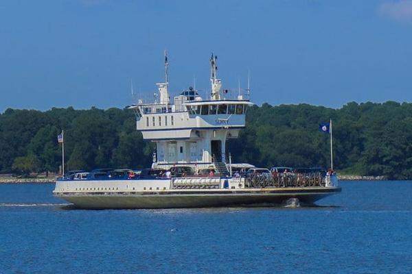 Jamestown-Scotland vehicular ferry